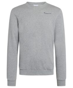 ELM Knowledgecotton Sweat Grey Melange