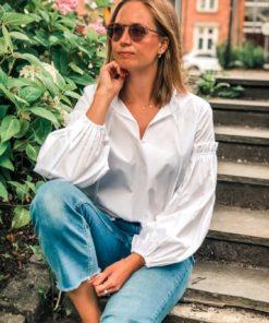Maia Shirt White