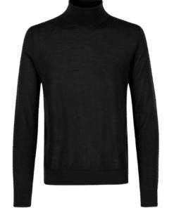 Flemming Turtle Neck Black