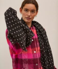 Dot Wica Scarf Black