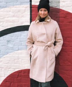 Daniella Coat Light Taupe Mel