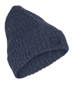 LEAF Rib Organic Wool Beanie Moonlite Ocean