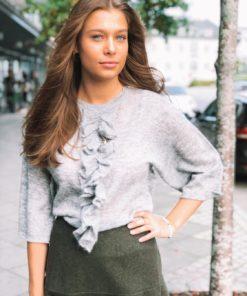 Tootsie Knit Sweater Grey