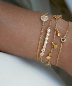 Bracelet Raindrops Gold