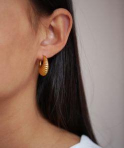 Hoops Cornelia Large Gold