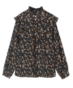 Myrtille Blouse Black Fall