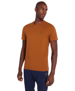 Crew Neck T-Shirt Caramel