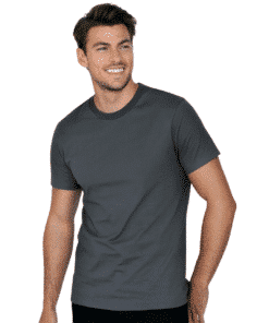 Crew-Neck Regular T-Shirt Grapihite Grey