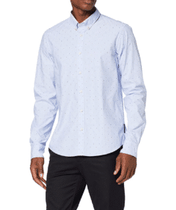 Regular Fit Fil Coupe Jacquard Shirt