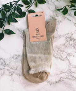 Tullie Sparkle Sock Beige