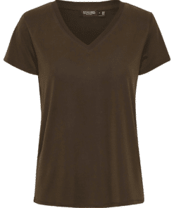 Columbine V-Neck T-Shirt Mole
