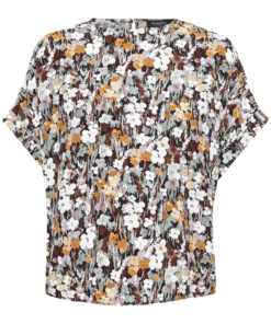 Mori Blouse Autumn Flower