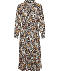 Mori Halima Dress Autumn Flower