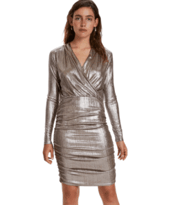 Mieko Mini Dress Silver