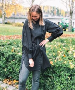 Arcy Tunic Shirt Black
