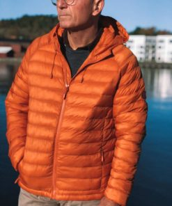 Eco Active Thermore Hood Jacket Rust