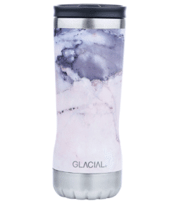 Glacial Thermo Cup Pink Marble 350ml