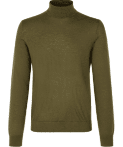 Flemming Turtle Neck Dark Olive