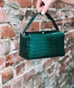 Croc Box Bag Duck Green
