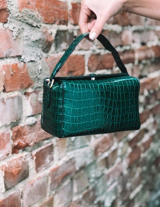 Croc Box Bag Duck Green