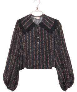 Jacquard Lace Shirt