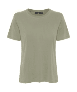 Columbine Crew-Neck T-Shirt Vetiver