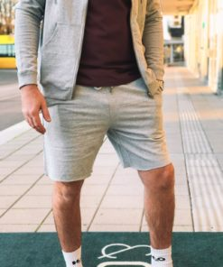 Lounge Shorts Grey Melange