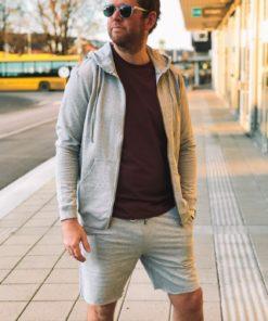 Lounge Shorts Grey Melange