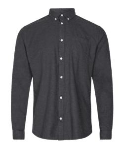 Jay Long Sleeved Shirt Carbon Mel