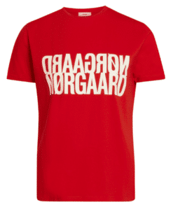 Trenda P Single Organic T-Shirt  Fiery Red