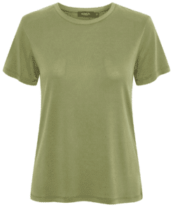 Columbine Crew-Neck T-Shirt Olivine