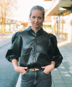Stefani Shirt Black