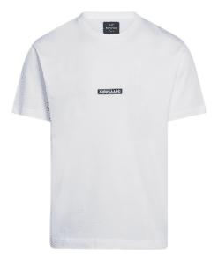Box Logo Twin T-Shirt White