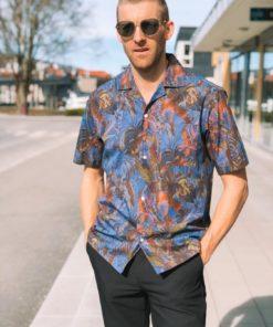 Sonar Print Samson Shirt Multi