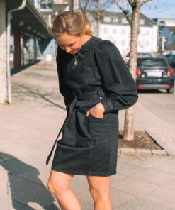 Tenny Denim Dress Black