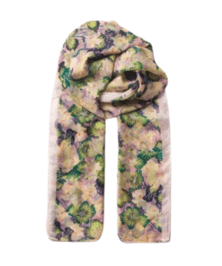 Waterlily Sita Scarf Mauve Orchid