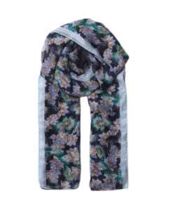 Waterlily Sita Scarf Night Sky