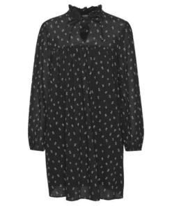 Carroll Dress Petite Fleur Black