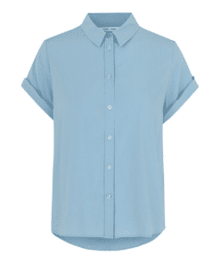 Majan ss Shirt Dusty Blue