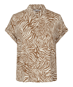 Majan ss Shirt aop Mountain Zebra