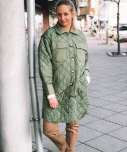 Umi Coat Olivine