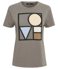 Bo T-Shirt Brushed Nickel