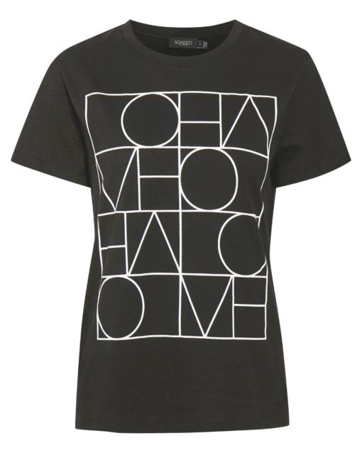 Anneke T-Shirt Black