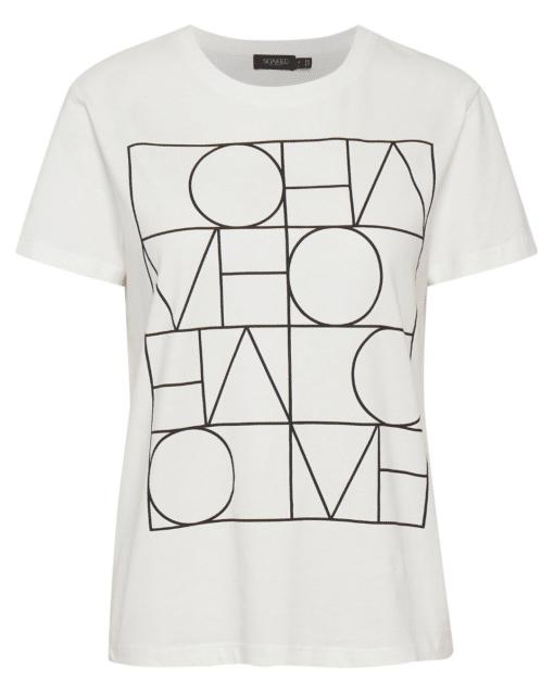 Anneke T-Shirt White