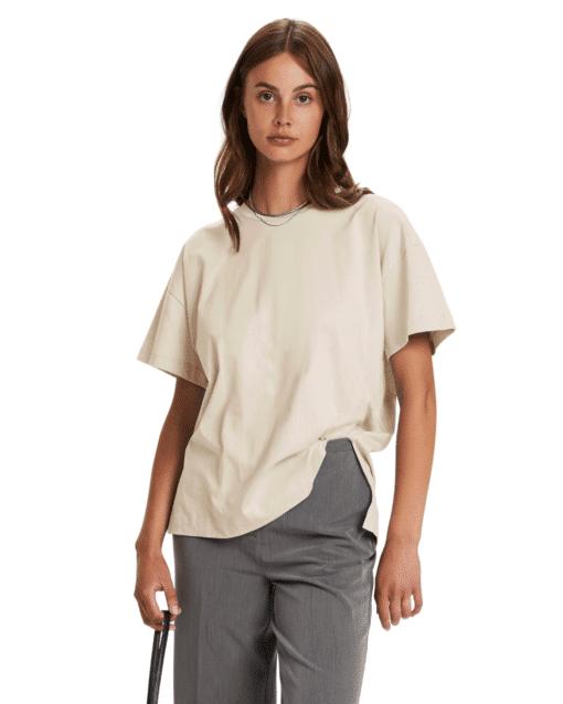 Eryka T-Shirt Whisper White