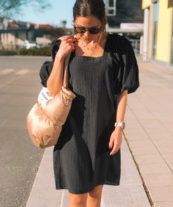 Tautou Dress Black