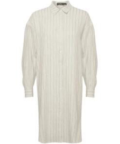 Jules Shirt Dress Antique White