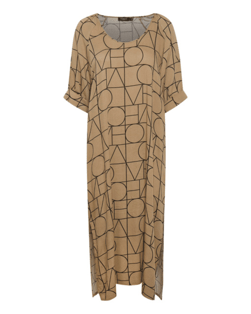 Montoya Dress Love Print Emine