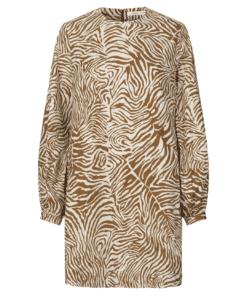 Aram Short Dress Mountain Zebra