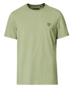 Plain Crew Neck T-Shirt Moss